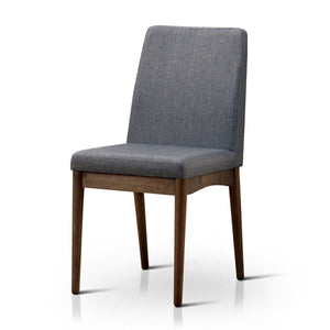 Furniture Of America Bosto 2Pc Padded Fabric Dinner Chair Natural Tone-Dining Chairs-HipBeds.com