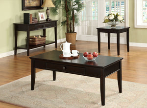 Furniture Of America Larsin Single Drawer Sofa Table Cherry-Tables-HipBeds.com
