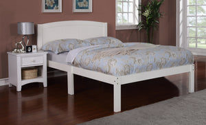 Furniture Of America Adella Full Size Platform Bed White-Platform Beds-HipBeds.com