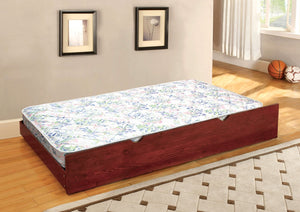 Furniture Of America Cielo 6 Inch Trundle Mattress White-Mattresses-HipBeds.com