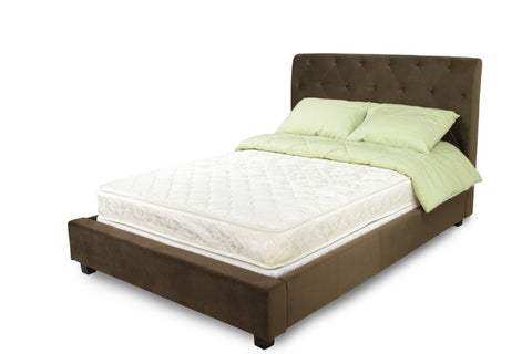 Furniture Of America Althea 7 Inch Tight Top Cal King Mattress White-Mattress-HipBeds.com