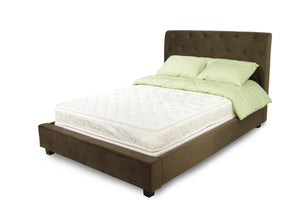 Furniture Of America Althea 7 Inch Tight Top Full Size Mattress White-Mattresses-HipBeds.com