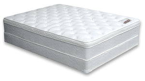 Furniture Of America Minah 11 Inch Cal King Euro Pillow Top Mattress White-Mattresses-HipBeds.com