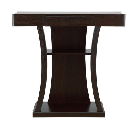 Furniture Of America Malenzo Podium Inspired Coffee Table Cappuccino-Coffee Tables-HipBeds.com