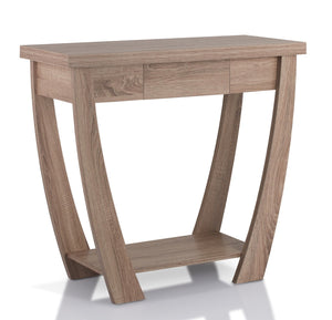 Furniture Of America Leena Single Drawer Entryway Table Light Oak-Tables-HipBeds.com