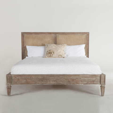 Home Trends & Design Amhurst Panel Bed, King - MAM-PBKVO-Panel Beds-HipBeds.com