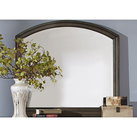 Liberty Furniture Modern Country Harvest Brown Mirror - 833-BR51-Mirrors-HipBeds.com
