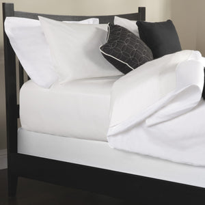 Sleep Plush StyleWrap White Fabric Box Spring Cover, Full-Protectors & Encasements-HipBeds.com