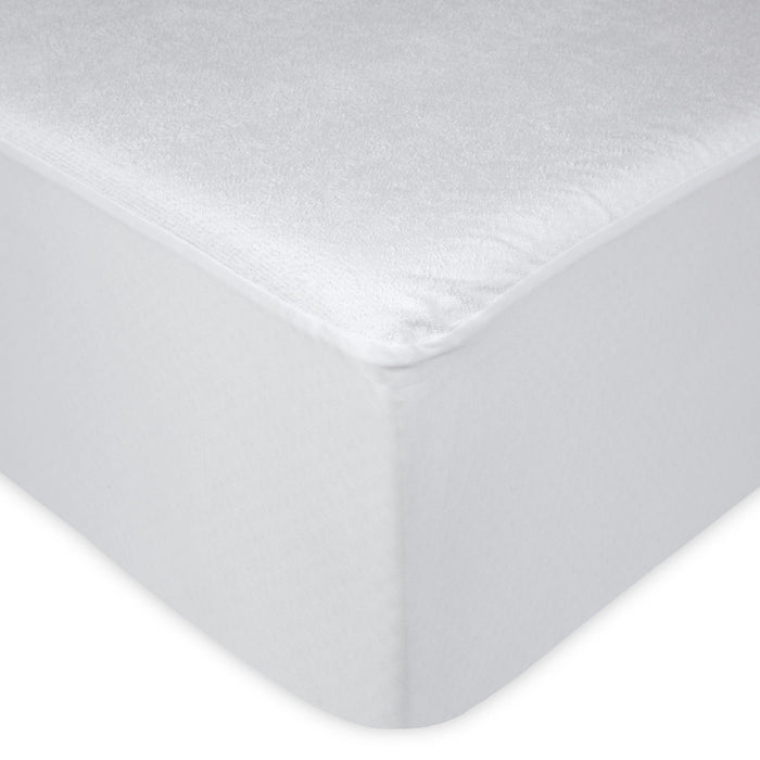 Sleep Calm Mattress Protector w/ Stain & Dust Mite Defense, Queen