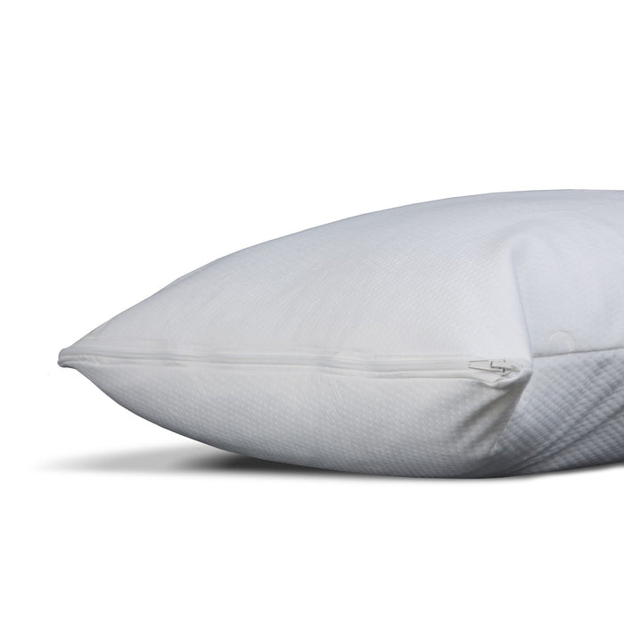 Sleep Chill Pillow Protector w/ Soft & Moisture Resistant CoolMax Fabric, King / California King