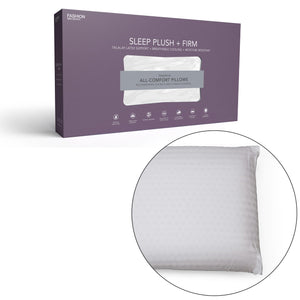 Leggett & Platt Sleep Plush + Firm Density Latex Foam Pillow, Standard / Queen-Pillow-HipBeds.com