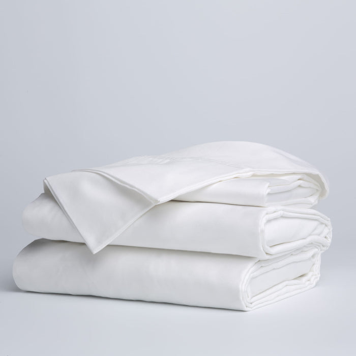 Sleep Plush + White 4-Piece Microfiber 500g Bed Sheet Set Wrinkle Free, Queen
