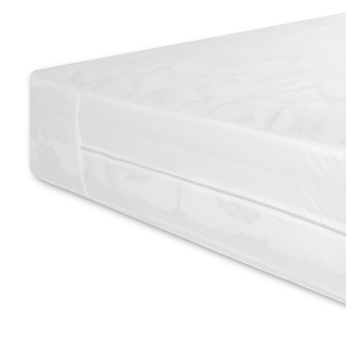 Sleep Calm Expandable Mattress Encasement w/ Stain & Dust Mite Defense, Twin