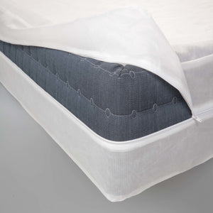 Sleep Calm Nonwoven Zippered Box Spring Encasement, King-Protectors & Encasements-HipBeds.com