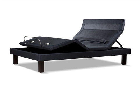 Ergomotion Adjustable Full Long Bed Base Softide 8300 - Black-Adjustable Beds-HipBeds.com