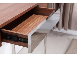 Casabianca GIGA Walnut Veneer Console Table -TC-0166-WAL-Console Tables-HipBeds.com