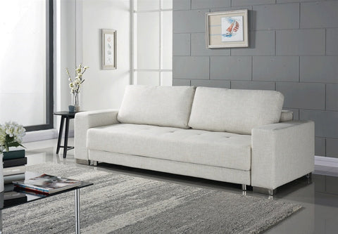 Casabianca CLOE Beige Fabric Sofa Bed - TC-1215-BG-Sofa Beds-HipBeds.com