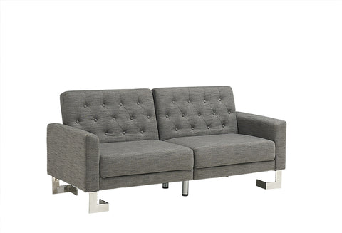 Casabianca MARINO Gray Fabric Sofa Bed - TC-5343-GR-Sofa Beds-HipBeds.com