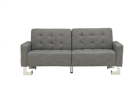 Casabianca SPEZIA Gray Fabric Sofa Bed - TC-5518-GR-Sofa Beds-HipBeds.com