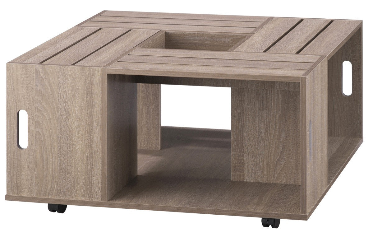 Furniture Of America Zuko Multi Storage Crate Coffee Table Weathered Coffee  Tables HipBeds.