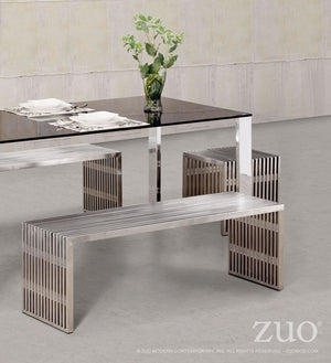 Zuo Modern Novel Single Bench - 100080-Benches-HipBeds.com