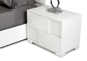 VIG Furniture Modrest Ancona Italian Modern White Nightstand