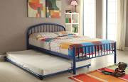 ACME Cailyn Twin Bed Blue - 30460T-BU-Platform Beds-HipBeds.com