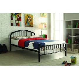 ACME Cailyn Twin Bed Black - 30460T-BK-Platform Beds-HipBeds.com