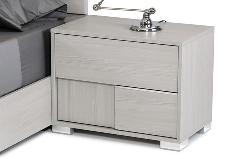 VIG Furniture Modrest Ethan Italian Modern Grey Nightstand
