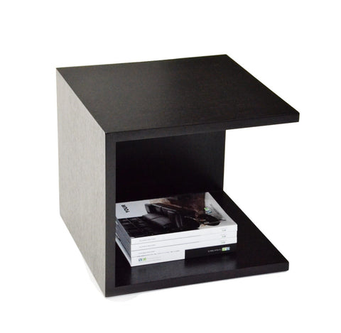 Modrest 846ET - Modern Two-Tier Nightstand-Nightstands-HipBeds.com