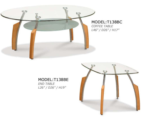Global Furniture Coffee Table Beech-Tables-HipBeds.com