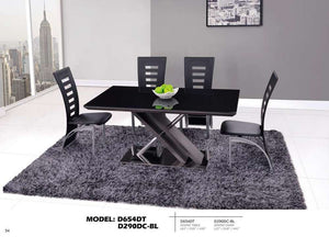 Global Furniture Dining Table Stainless Steel-Dining Tables-HipBeds.com