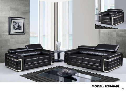 Global Furniture Sofa Blanche Black-Sofas-HipBeds.com