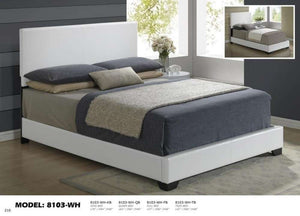 Global Furniture Full Bed White-Beds-HipBeds.com