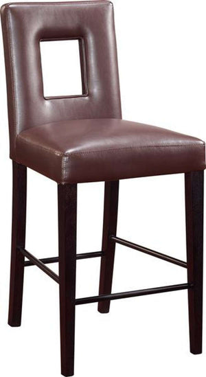 Global Furniture Bar Stool, Brown-Table & Bar Stools-HipBeds.com