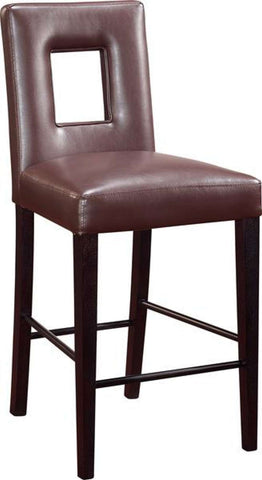 Global Furniture Bar Stool, Brown-Bar Stools-HipBeds.com