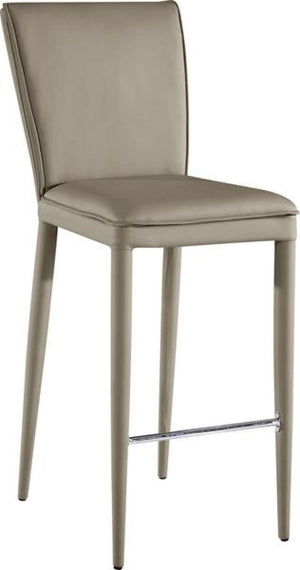 Global Furniture Bar Stool Taupe Pu (Dh038)-Table & Bar Stools-HipBeds.com