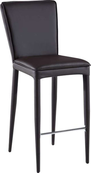 Global Furniture Bar Stool Brown Pu (Dh008)-Table & Bar Stools-HipBeds.com