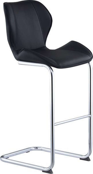 Global Furniture Bar Stool Black Pu-1422-Table & Bar Stools-HipBeds.com