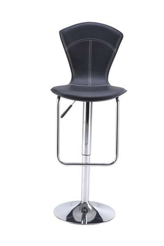 Global Furniture Bar Stool Black-Table & Bar Stools-HipBeds.com