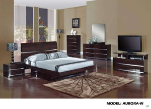 Global Furniture Big Dresser, Wenge, Mdf, Wood Veneer-Dressers-HipBeds.com