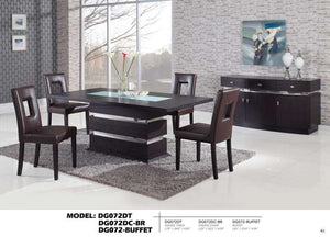Global Furniture Buffet, Wenge-Buffets-HipBeds.com