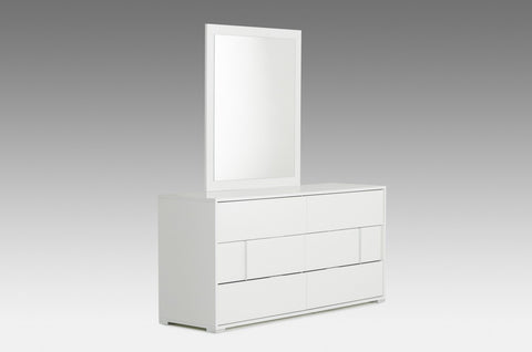 VIG Furniture Modrest Nicla Italian Modern White Mirror