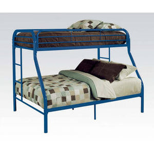 ACME Tritan Twin XL/Queen Bunk Bed Blue - 02052BU-Bunk Beds-HipBeds.com