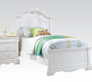 ACME Estrella Full Bed White - 30235F-Panel Beds-HipBeds.com