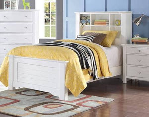 ACME Mallowsea Full Bed White - 30405F-Panel Beds-HipBeds.com
