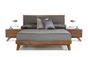 VIG Furniture Nova Domus Soria Modern Grey & Walnut Bed