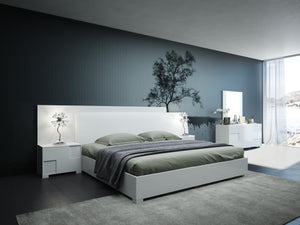 VIG Furniture Modrest Monza Italian Modern White Bedroom Set