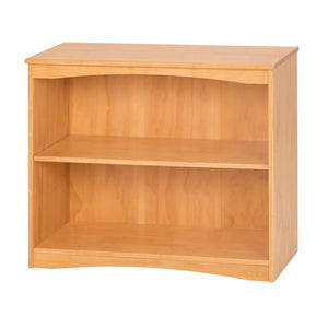 "Camaflexi Bookcase - Essentials Wooden Bookcase 36"" Wide - Natural Finish - 4181-Bookcase-HipBeds.com"