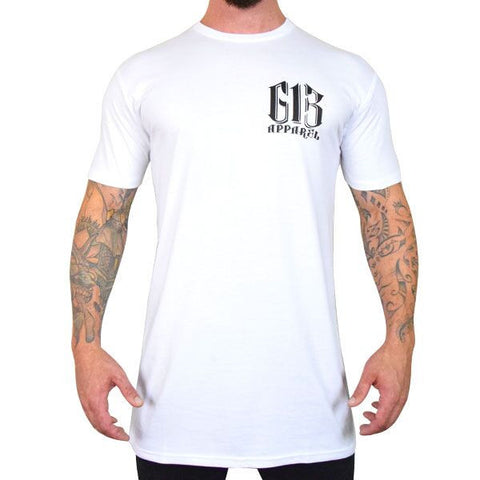 613 Badge Tall Tee - White